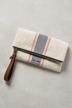 Pennyland Stripe Wristlet - anthropologie.com