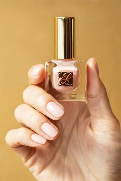 Turn your fingertips into fashion statements with Pure Color Nail Lacquer in Ballerina Pink. Pink Polish, Nail Polish, Love Nails, Pink Nails, Pretty Nail Art, Classy Nails, Fabulous Nails, Estee Lauder, Manicure And Pedicure