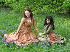 Gothic Fitted/Pre-Raphaelite Dress – Démodé
