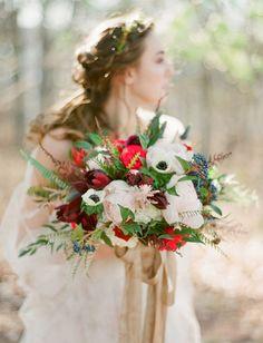 Rustic Holiday Wedding Inspiration | Green Wedding Shoes Wedding Blog | Wedding Trends for Stylish + Creative Brides