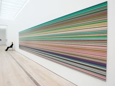 nearlya:  Gerhard Richter View of the exhibition at the Fondation Beyeler, Riehen, 2014