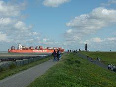 Allemagne (ex-RFA) - Cuxhaven - La baie