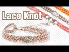 [305DIY]마크라메 오리엔탈 매듭팔찌만들기, macrame Oriental knot bracelets DIY tutorial - YouTube