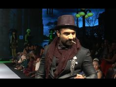 Bollywood actor Ajaz Khan walks the Ramp For Designer Suveera At Madame Style Week For more Ajaz Khan's latest news, gossips, photos, videos, photoshoo. Captain Hat, Interview, Stylish, Videos, Music, Youtube, Pictures, Musica, Photos
