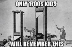 Oh, the good old days… I hate when kids from the 1800s act like they remember it! What were you like 2?!?