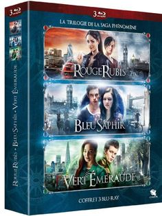But with English subtitles and able to play In the US. Rouge Rubis + Bleu Saphir + Vert Émeraude [Blu-ray]
