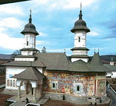 Rasca Monastery Place Of Princes, Watercolor Architecture, Kirchen, Eastern Europe, Amazing Architecture, 16th Century, Dom, The Good Place, Medieval