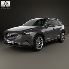 Mazda CX-9 2016 3d model from Humster3D.com.