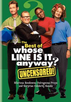 Hilarious improvisational show! So funny and creative! It's a shame that only 2 seasons were released to DVD but they are great! (The series was relaunched on CW  in 2013 with some of the original cast.)