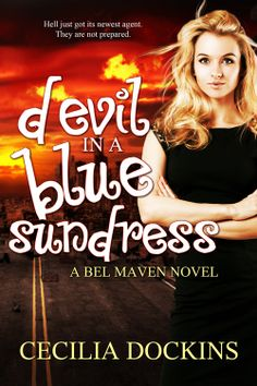 Devil in a Blue Sundress - Cecilia Dockins Cover Art, Devil, Indigo, Novels, Indigo Dye, Demons, Fiction, Romance Novels