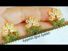 Would you like to embellish your headscarves with a needle ring? - My Recommendations Tatting, Knit Shoes, Needle Lace, Knitted Shawls, Baby Knitting Patterns, Promise Rings, Knitting Socks, Crochet Stitches, Hand Embroidery