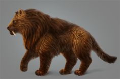 Paint Realistic Long Fur Without a Fur Brush in PS by LadyAway sabertooth lion monster beast creature animal | Create your own roleplaying game material w/ RPG Bard: www.rpgbard.com | Writing inspiration for Dungeons and Dragons DND D&D Pathfinder PFRPG Warhammer 40k Star Wars Shadowrun Call of Cthulhu Lord of the Rings LoTR + d20 fantasy science fiction scifi horror design | Not Trusty Sword art: click artwork for source