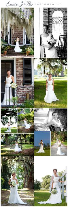 LOVE a good old southern bridal shoot :). Carolina Studios Photography in Georgetown SC