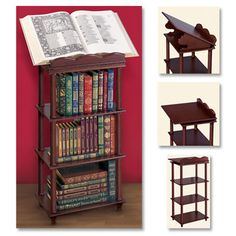 THE EASTON PRESS BOOK STAND  -  A stunning display for the magnificent books in your collection.