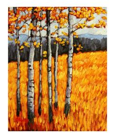 looks like Sept / Oct in Colorado - love the orange/ yellow/ golden hues
