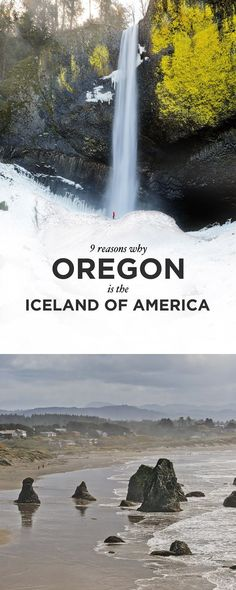 9 Reasons Why Oregon is the Iceland of America // Local Adventurer #oregon #iceland #waterfall #outdoors #travel #wanderlust #hiking #nature #landscape #scenery