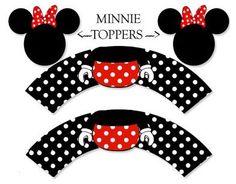 free minnie mouse printables | Mickey minnie | Pinterest