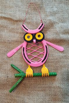 Horseshoe Owl - Unpainted Made in Montana Horseshoe Art Baby Shower Folk Art…