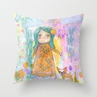 Throw Pillows by Serena Wilson Stubson   Society6