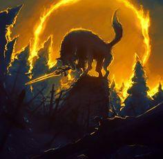 Great Grey Wolf Sif Sif Dark Souls, Dark Souls Artorias, Wolf Knight, Soul Saga, Bloodborne Art, Soul Tattoo, Zelda Twilight Princess, Big Bad Wolf, Geek Art