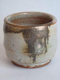 Ken Ferguson SHINO carbon trap  tea bowl