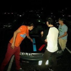 fetus tyler and josh and a fan's sick as frick car