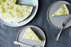 Pistachio Cake with Lemon, Cardamom, and Rose Water, a recipe on Food52 - try this substituting eggs with chickpea water