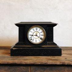 Alamo - Antique E Ingraham Company Mantel Clock.  Robin might like?