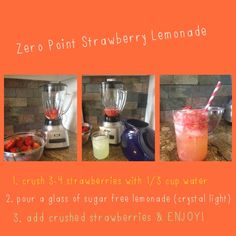 Weight watchers zero point strawberry lemonade