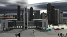 Addis Ababa in future  (City hall)