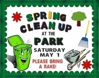 Spring Cleaning | Clean up the park!