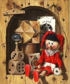 Pinocchio – Gérard Willemenot (French artist, born 1943 in Paris, France. He was the eldest of nine children.)