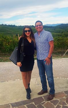 From #Texas to #Friuli, to visit #Fantinel #Winery! #Wine #Travel #Collio #Vineyards #Landscape #TenutaSantHelena #Grapes #WineLover #Italy