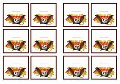 Kung Fu Panda Name Tags – Birthday Printable