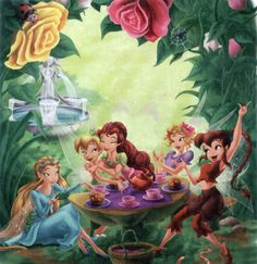 Concept art and behind the scenes of anything Disney Fairies related.