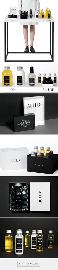 Allude Cashmere Care by Bibliothèque Design curated by Packaging Diva PD. Packaging and point-of-sale material for a range of natural detergents specially created to compliment the cashmere range produced by the Munich-based luxury brand, Allude.