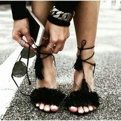 Aquazzura shoes.