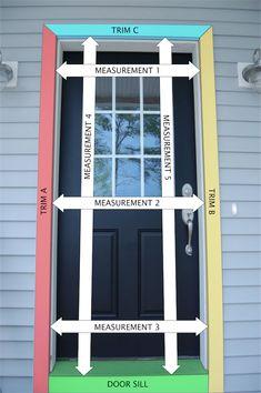 32 ideas garage screen door diy curb appeal for 2019 Wood Screen Door, Wood Doors, Custom Screen Doors, Front Door With Screen, Wooden Screen, Diy Wood Projects, Home Projects, Diy Home Repair, Home Repairs