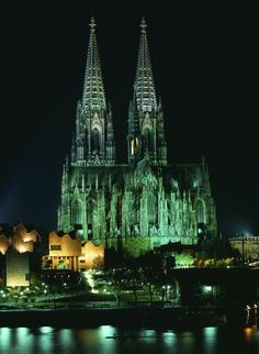 Cologne, Germany . The Gothic Cathedral not only is the city's distinctive feature but also Germany's most visited attraction.