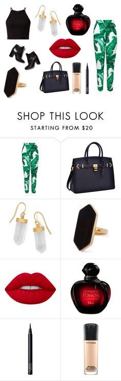 """business women"" by akidesekerii on Polyvore featuring moda, Dolce&Gabbana, Pierre Hardy, BillyTheTree, Jaeger, Lime Crime, NARS Cosmetics ve MAC Cosmetics"