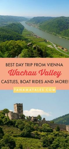 Things to do in #Vienna, #Austria – Travel tips and ideas - Are you looking for an awesome day trip from Vienna? If so, you have to visit the Wachau Valley. The Valley is a 24 miles (40 km) stretch of the Danube River between the towns of Krems and Melk and it is one of the most famous destinations in Austria. This guide will show you where to find the best red-roofed towns, castles, vineyards and stunning abbeys! It is the perfect combination of beautiful scenery and charming towns!
