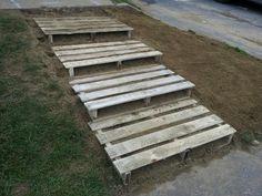 Pallet steps