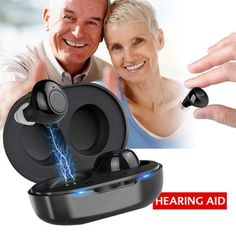 1 Pair USB Rechargeable Mini In Ear Portable Invisible Hearing Aids Assistant Adjustable Tone Sound Amplifier For Deaf Elderly - Swedish Health Club Ear Tubes, Health Club, Health Zone, Usb, Hearing Aids, Mini, Health And Beauty, Pairs, This Or That Questions
