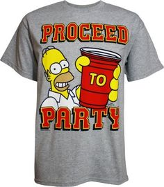 Simpsons Homer Proceed to Party Men's T-Shirt, http://www.amazon.com/dp/B007W24DYI/ref=cm_sw_r_pi_awd_1cWgsb11B13K4