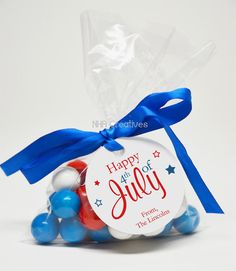 4th Of July Party Favors By McDonald Mattern Design