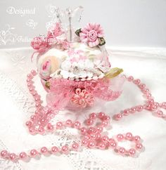 Shabby Chic Pin Cushion