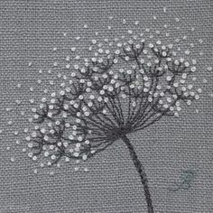 Jo Butcher, Embroidery Artist - Gallery - Category: Seedheads