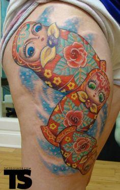 russian doll tattoo