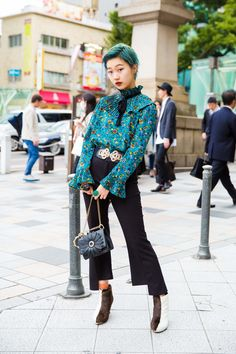The Best Street Style From Tokyo Fashion Week Spring '18