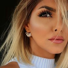 """Gorgeous @sheidafashionista wearing our newest @shophudabeauty lashes in Sasha launching soon in the U.S. ❤️❤️❤️"""